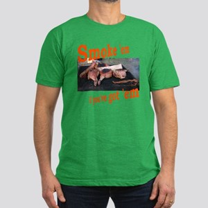 Smoke 'em Men's Fitted T-Shirt (dark)