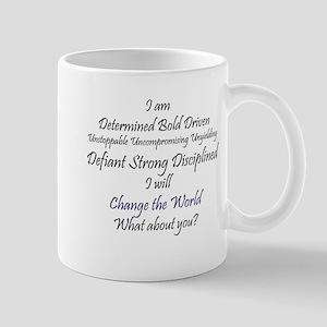 I Am Determined Mug