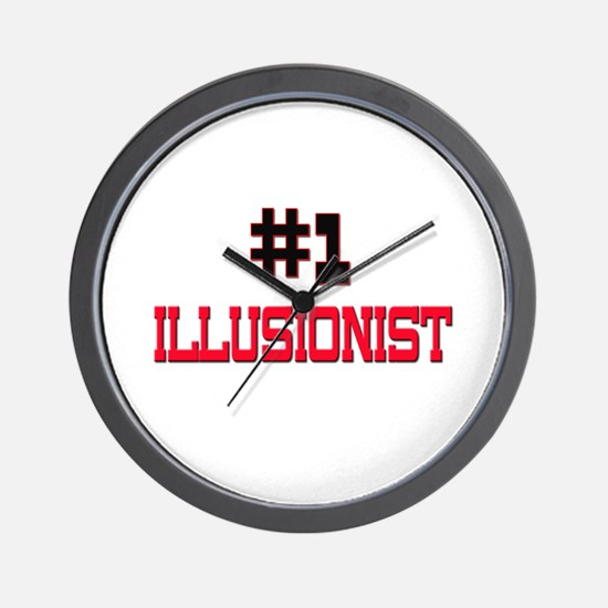 Number 1 ILLUSIONIST Wall Clock