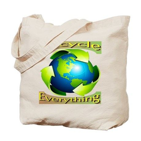 Recycle Everything Tote Bag