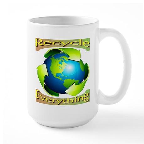 Recycle Everything Large Mug