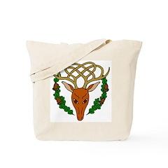 Celtic Stag Tote Bag