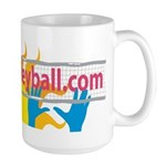 Nudist Volleyball Large Mug