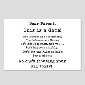 Dear Parents Postcards (Package of 8)