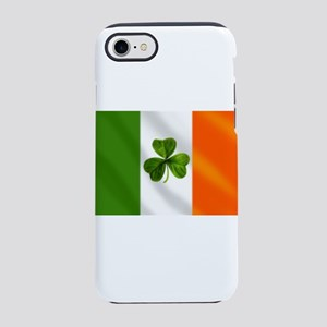 Irish Shamrock Flag iPhone 7 Tough Case