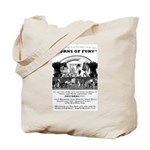 Horns of Fury Tote Bag