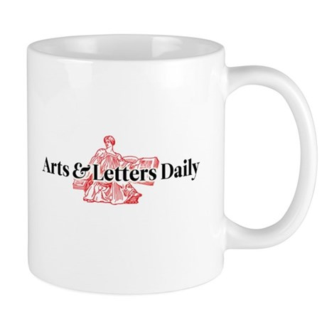 arts letters daily arts letters daily mug by aldaily 20509 | arts amp letters daily mug
