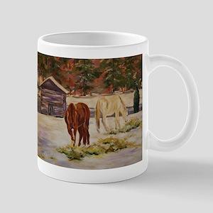 Snow Day at the Barn Mug