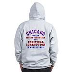 Corrupt Chicago Zip Hoodie