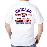 Corrupt Chicago Golf Shirt