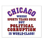 Corrupt Chicago Small Poster