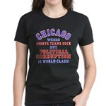 Corrupt Chicago Women's Dark T-Shirt