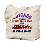 Corrupt Chicago Tote Bag