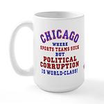 Corrupt Chicago Large Mug