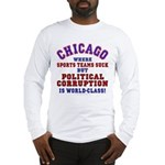 Corrupt Chicago Long Sleeve T-Shirt