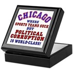 Corrupt Chicago Keepsake Box