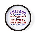Corrupt Chicago Wall Clock