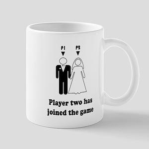 player2 black Mugs