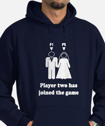 Cute Player 2 Hoodie (dark)