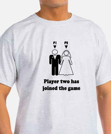 player2 black T-Shirt