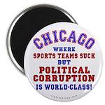 """Corrupt Chicago 2.25"""" Magnet (10 pack)"""
