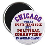 Corrupt Chicago Magnet