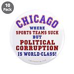 "Corrupt Chicago 3.5"" Button (10 pack)"