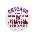 "Corrupt Chicago 3.5"" Button (100 pack)"