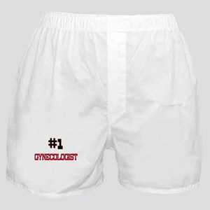 Number 1 GYNECOLOGIST Boxer Shorts