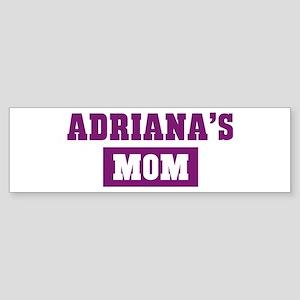 Adrianas Mom Bumper Sticker
