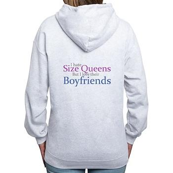 I Hate Size Queens Women's Zip Hoodie