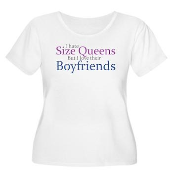 I Hate Size Queens Women's Plus Size Scoop Neck T-