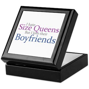 I Hate Size Queens Keepsake Box