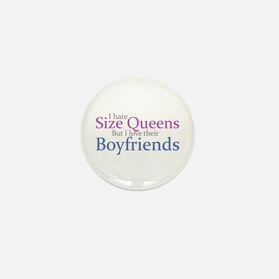 I Hate Size Queens Mini Button