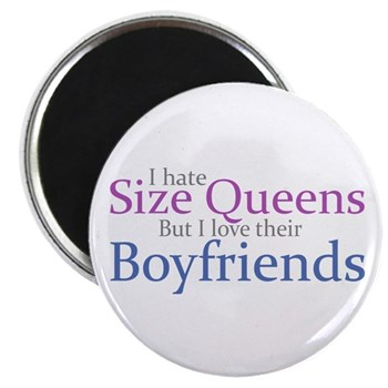 I Hate Size Queens Magnet