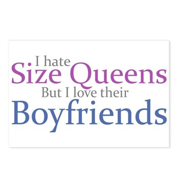 I Hate Size Queens Postcards (Package of 8)