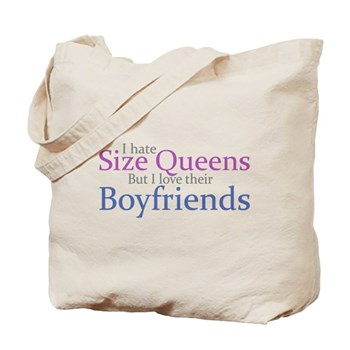 I Hate Size Queens Tote Bag