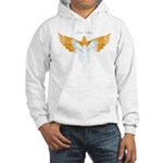 BirdTribes ShamanAngel Hooded Sweatshirt DblSided