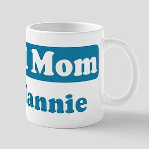 #1 Mom Nannie Mug