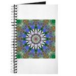 Blue Passion Flower I Journal