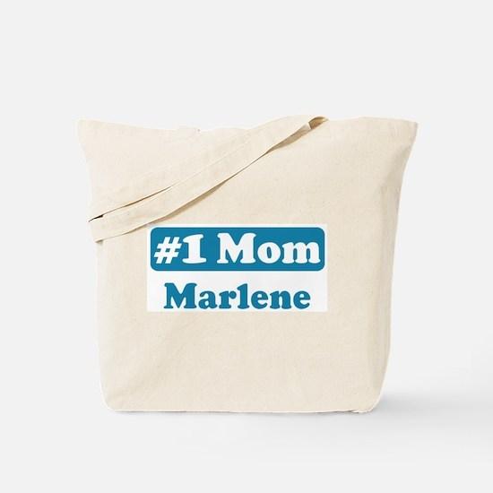 #1 Mom Marlene Tote Bag