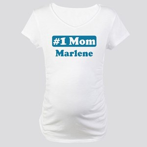 #1 Mom Marlene Maternity T-Shirt