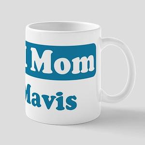 #1 Mom Mavis Mug