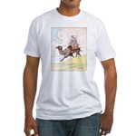 Camel Art Fitted T-Shirt