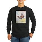 Camel Art Long Sleeve Dark T-Shirt