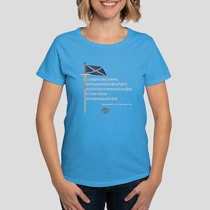 Declaration Of Arbroath Women's Dark T-Shirt