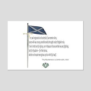 Declaration Of Arbroath Mini Poster Print