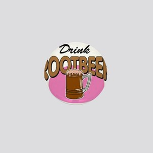 Drink RootBeer Mini Button