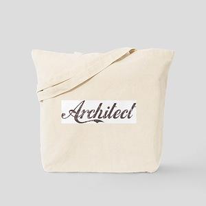 Vintage Architect Tote Bag