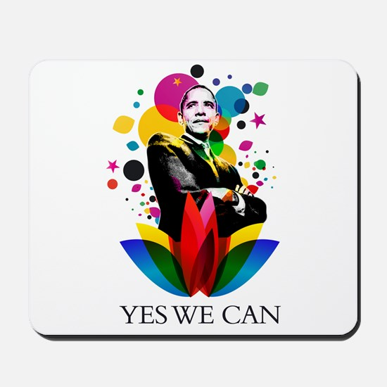 Obama - Yes we can Mousepad